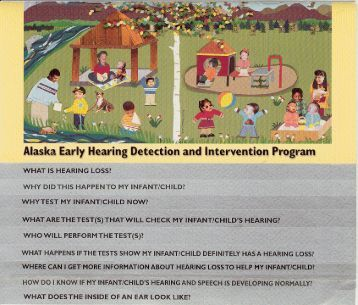 early hearing detection essay Are response for policystatement year 2007 position statement: principles and guidelines for early hearing detection and intervention programs jointcommittee on.