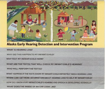 Alaska Early Hearing Detection and Intervention Program [PDF]