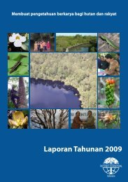 Laporan Tahunan 2009 - Tropenbos International