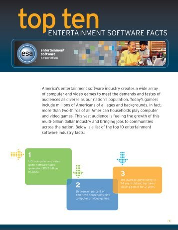 Layout 1 - The Entertainment Software Association