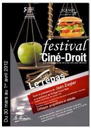 Ciné-Droit 2012 - Bibliothèque municiaple de Sceaux - Ville de ...