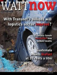 download a PDF of the full March 2010 issue - Watt Now Magazine