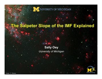 The Salpeter Slope of the IMF Explained