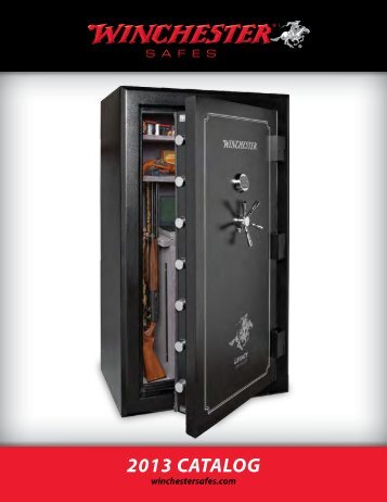 2013 CATALOG - Winchester Safe