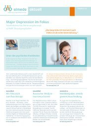 Major Depression im Fokus - Almeda