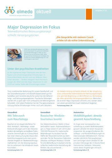 Major Depression im Fokus - Almeda