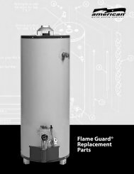 Flame Guard® Replacement Parts - American Water Heaters