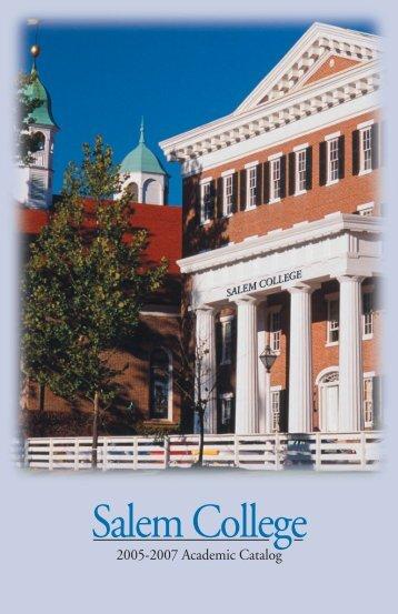 2005-2007 - Salem College
