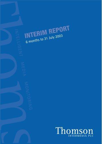 Interim Report - Ebiquity