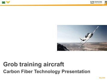 Carbon fiber technology - GROB Aircraft