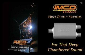 High Output Mufflers Catalog