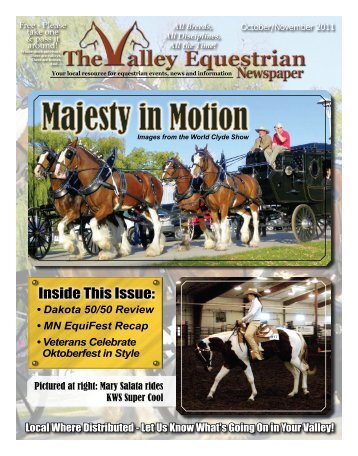 October/Nov 2011 - The Valley Equestrian Newspaper