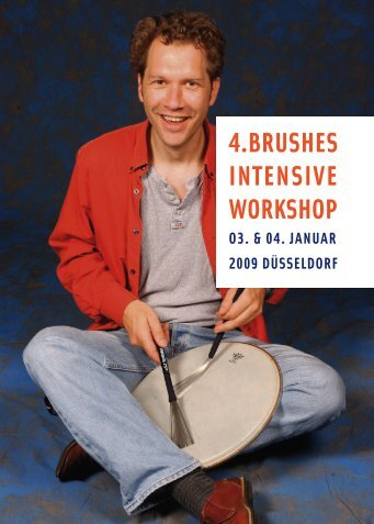 4.BRUSHES INTENSIVE WORKSHOP - Jazzdrummerworld