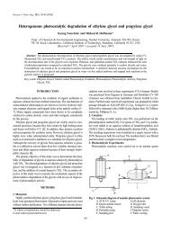 Heterogeneous photocatalytic degradation of ethylene glycol and ...