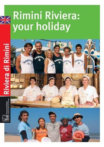 Rimini Riviera: your holiday
