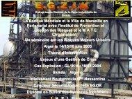 Alger le 14/15/16 juin 2005 Un Séminaire sur les ... - Euromedina