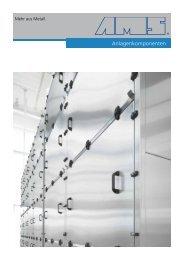 Anlagenkomponenten - AMS GmbH - Mehr  aus Metall.