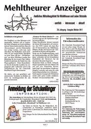 Tel. (0 37 41) - Mehltheuer