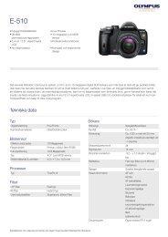 E-510, Olympus, Digital SLR