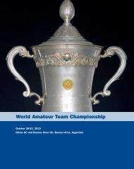 World Amateur Team Championship - USGA