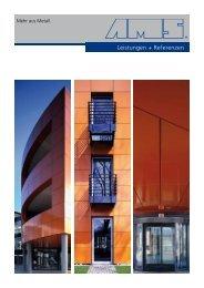 Leistungen + Referenzen - AMS GmbH - Mehr  aus Metall.