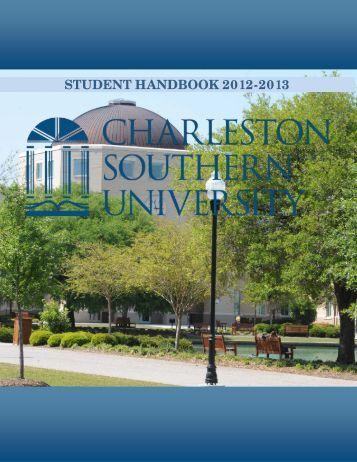 Student Handbook - Charleston Southern University