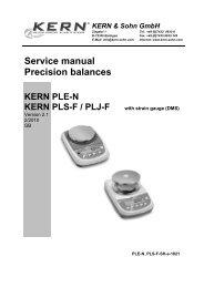 Kern CM 320-1/N Pocket Scales