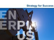 Strategic Overview - Enerplus