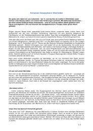 Bericht - Männerchor St. Johann Basel