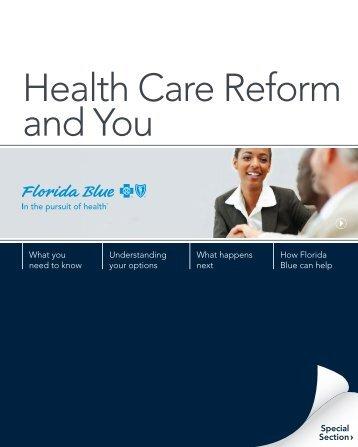Health Care Reform and You - Florida Blue