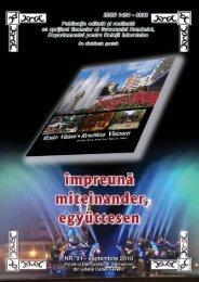 impreuna august nr31 pentru pdf - Demokratisches Forum der ...