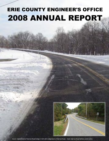 2008 cover - Erie County, Ohio
