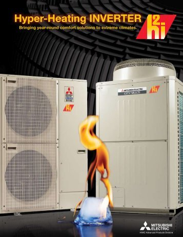 Hyper-Heating INVERTER - Mitsubishi Electric Cooling & Heating