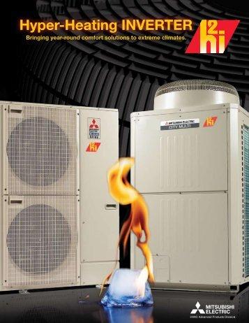 Hyper-Heating INVERTER - Mitsubishi Electric Cooling & Heating