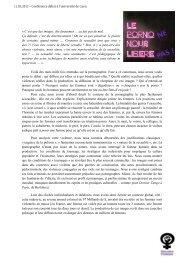 11.03.2012 – Conférence débat à l'université de Caen. - Féministes ...