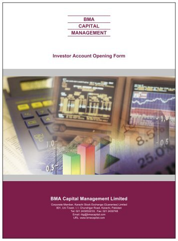 BMA CAPITAL MANAGEMENT Investor Account Opening Form BMA ...