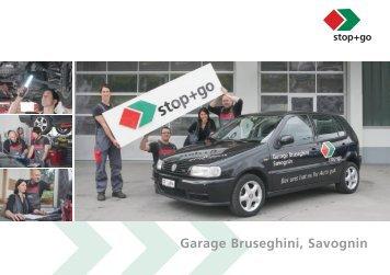 Garage Bruseghini, Savognin - Sprüngli Druck AG