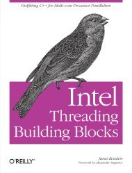 CHAPTER 1 Why Threading Building Blocks?