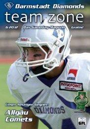Teamzone-Magazin - Darmstadt Diamonds