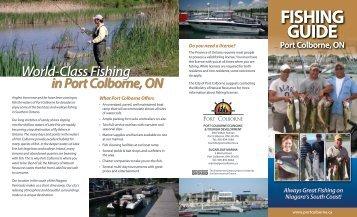 fishing guide fishing guide fishing guide - City of Port Colborne