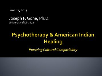 Cultural Competence - Sanford Research