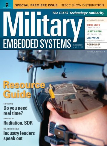 Military Embedded Systems Spring 2005 Volume 1 Number 1