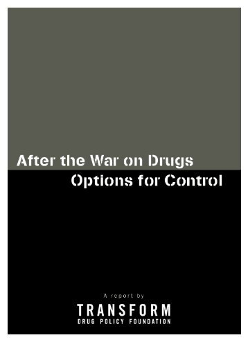 After the War on Drugs - Canadian Harm Reduction Network