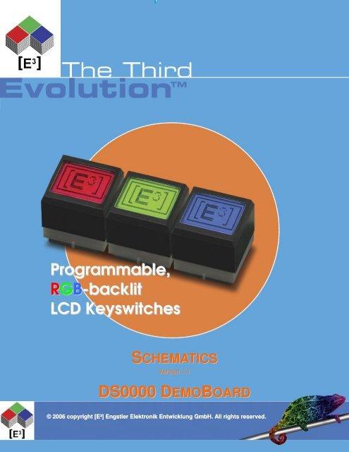 Schematics - LCD Keys from E3