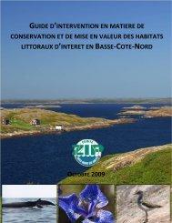 Guide d'intervention en matière de conservation et de mise en ...