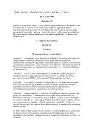DIARIO OFICIAL . AÑO CXXVIII. N. 40707. 4, ENERO ... - Felaban
