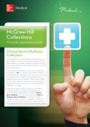 Clinical Sports Medicine Collection - McGraw-Hill Education ...