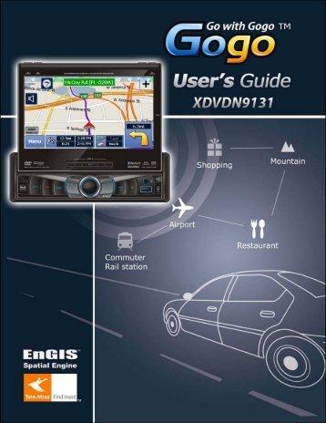 XDVDN9131 Gogo Manual - Dual Electronics