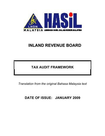 inland revenue board of malaysia Information on taxes in malaysia menu income tax contact how to do e-filing for individual income tax return income tax income tax return form (itrf) ezhasil e-filing is a most convenient way to submit income tax return form (itrf.