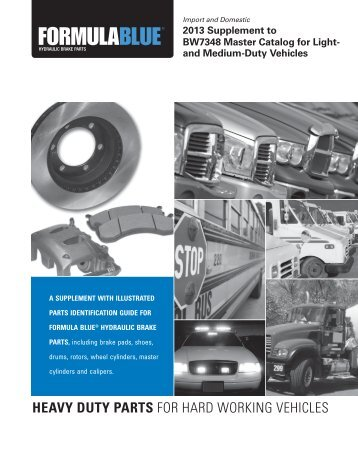 heavy duty parts for hard working vehicles - Bendix Spicer ...